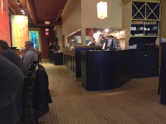 Foster's Inn Restaurant : This is one side, there is another out of view