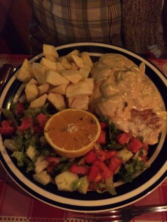 Inn Albergeria Bica-Boa : Delicious dinner