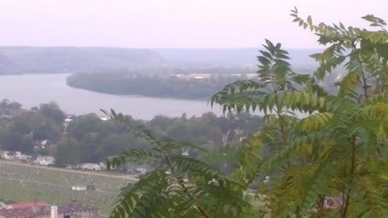 General Butler State Resort: View of Ohio river