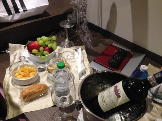 Hotel Palace: Presente de boas vindas