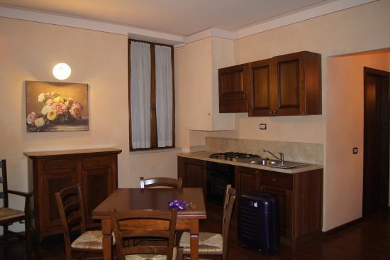 Residenza Palazzo Saloni: Coin cuisine