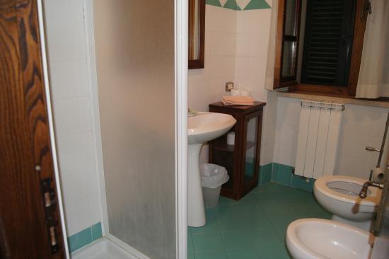 Residenza Palazzo Saloni: Salle de bain