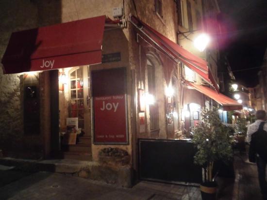 Restaurant Joy : Vue exterieure
