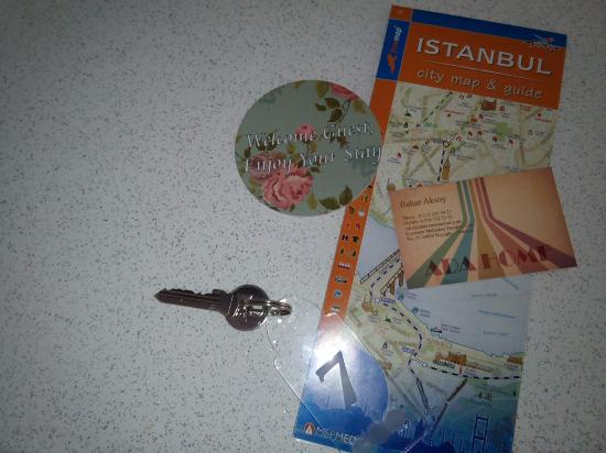Ada Home Istanbul: Our gift from the host :)