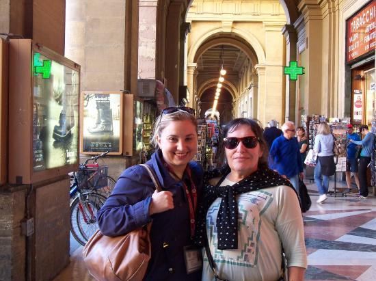 Fantastic Florence: Francesca y Silvia.
