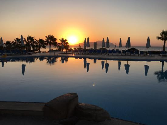 Sunrise...the best time of the day - Picture of Cyrene Grand Hotel ... | title | sunrise time