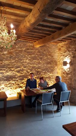 Torre di Moravola: A great dinner in the dining room