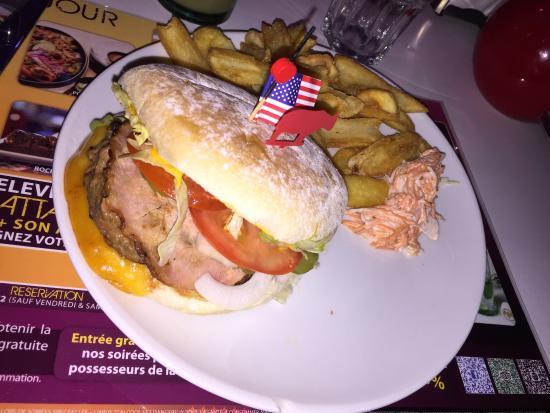 RockSide Café : Jack burger