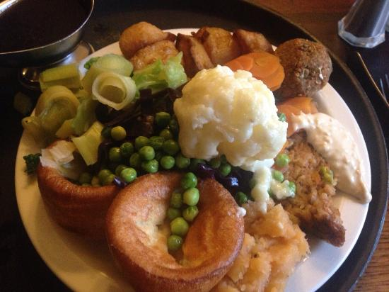 Lovely Sunday Lunch with great Veggie option