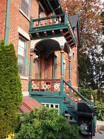 Bay City, MI: Back porch again