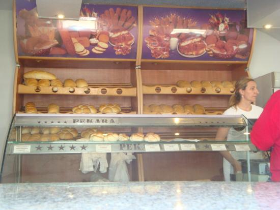 Central Croatia, Chorwacja: Bakery goodies!