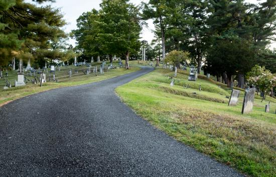 Mount Hope Garden Cemetery: Path