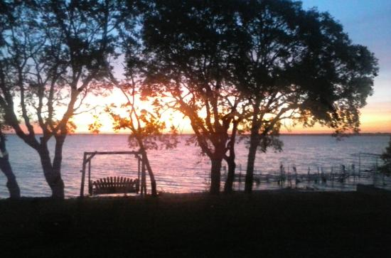 The Lodge on Otter Tail Lake: sunrise from cabin 9