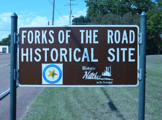 Natchez, MS: Forks of the Road
