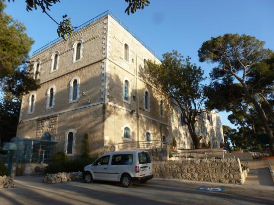 La Maison d'Abraham: Vue de l'extèrieur