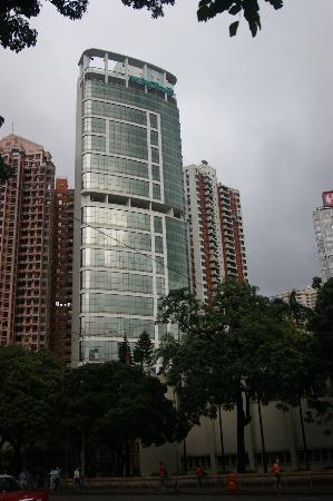 Metropark Hotel from Victoria Park