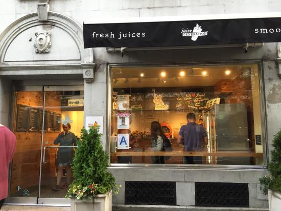 Photo of Restaurant Juice Generation at 117 W 72nd St, New York, NY 10023, United States