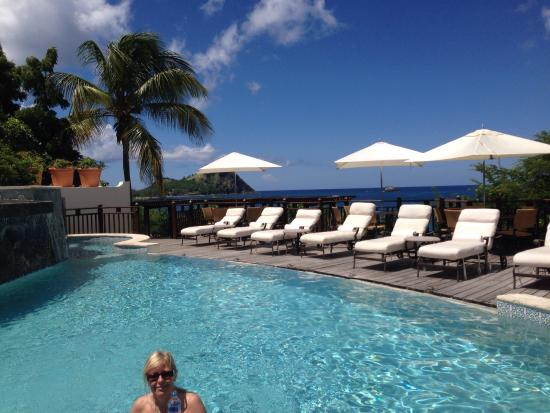 Cap Estate, St. Lucia: Small main pool