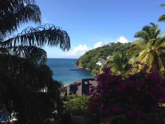 Cap Estate, Сент-Люсия: View from the Cliff Restaurant