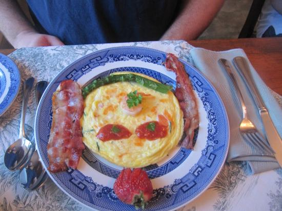 Abacot Hall Bed & Breakfast: The resemblance to my boyfriend is remarkable