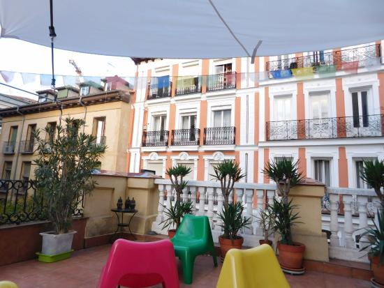 Barbieri Sol Hostel: Hostel terrace