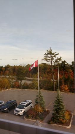 Parry Sound Inn and Suites: View from room