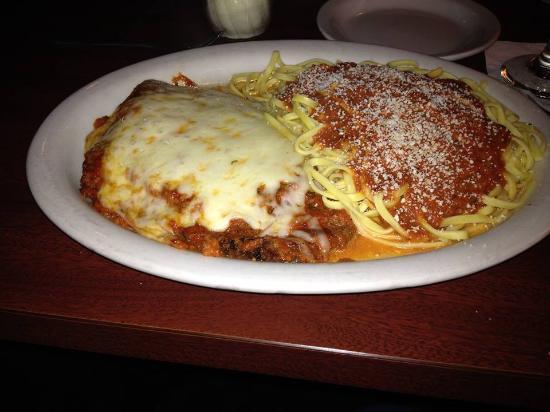 Calitri's Italian Cuisine: Egglant Parmigiana