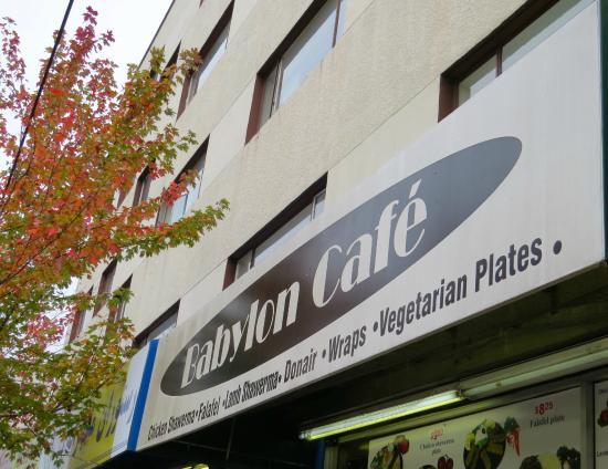 Babylon Cafe: Street Sign