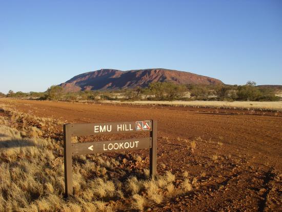 Meekatharra Australia  city pictures gallery : Meekatharra, Australia: Mt Augustus on way to sunset lookout.