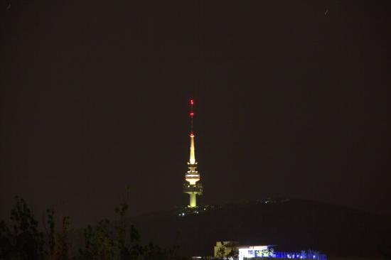 One of a Kind Apartments: Telstra Tower from the Balcony