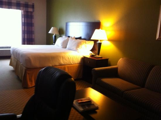 Holiday Inn Express Hotel & Suites Kilgore North: King Suite