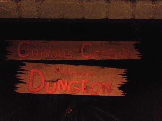 Geneseo, IL: Entrance to The Dungeon!