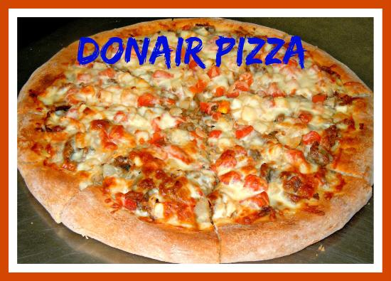 Donair Pizza Picture Of Famous King Restaurant Kingston Tripadvisor