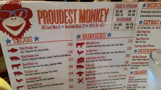 The Proudest Monkey