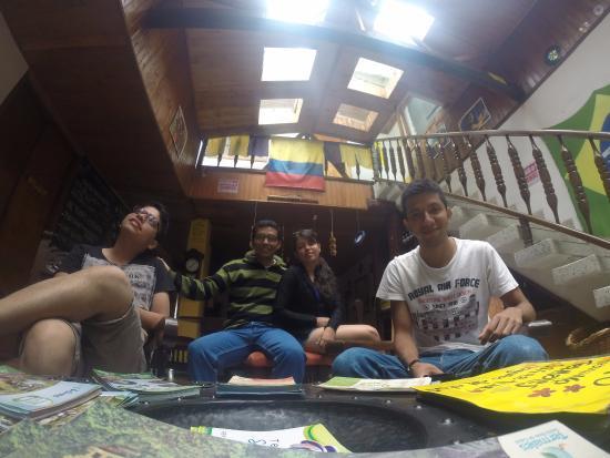 Coffee Town Hostel: Un Lugar acojedor