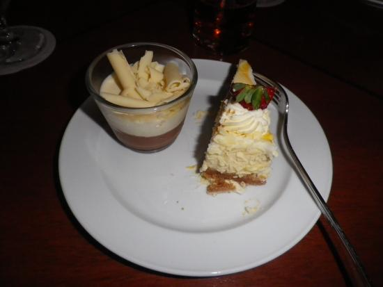 Griffins Restaurant: デザート