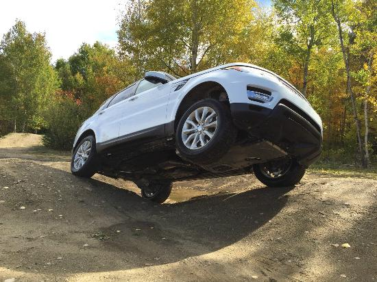 Land Rover Adventure With The Range Sport Driving Experience