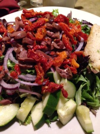 Pizza Luce: Special-request salad
