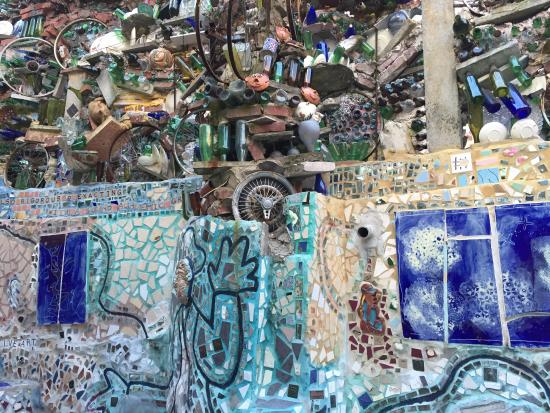 mosaic Picture of Philadelphias Magic Gardens Philadelphia