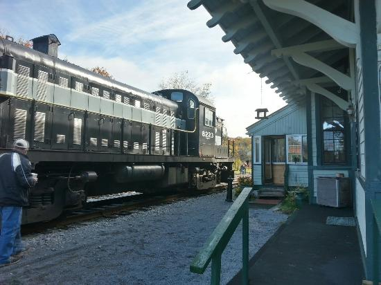 Big Moose Station: Yes, it's actually a train station.