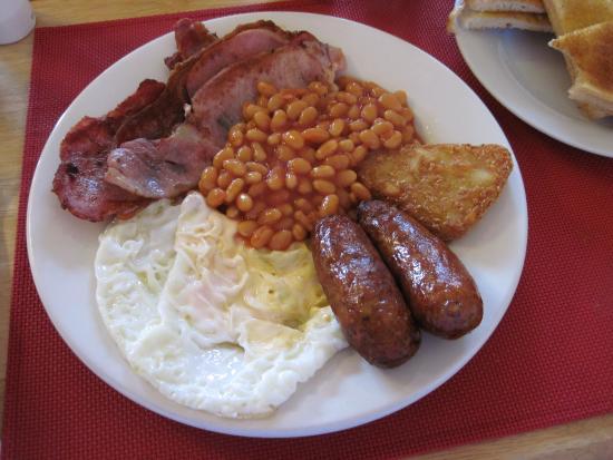 Full English Breakfast #3 - Oporto Cafe, Soham (08/10/15).