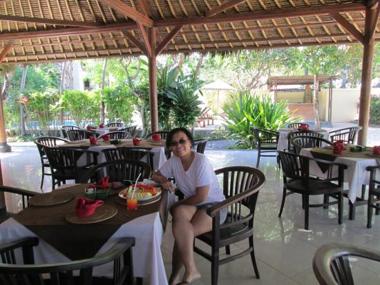 Benoa Beach Front Villas & Spa: restaurant