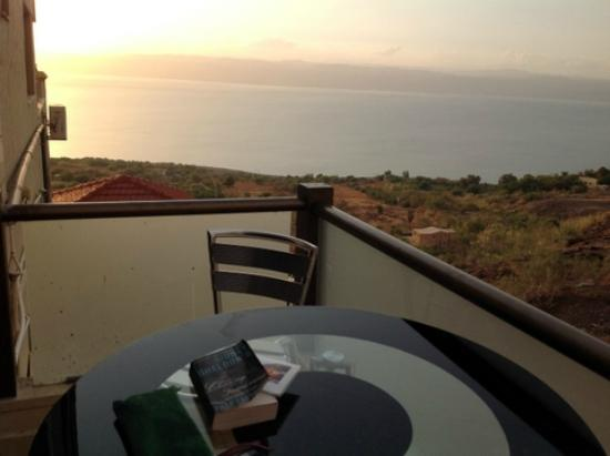 Sehatty Resort: View of the Dead Sea from the room