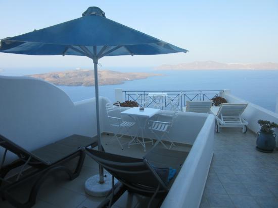 Villa Renos: View from our room at Renos Villas