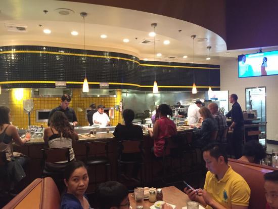Thai chicken pizza - Picture of California Pizza Kitchen, Walnut ...