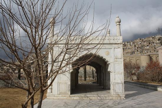 Babur Gardens Mosque