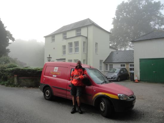 postman 'Pat' at Rolles Court Whitfield