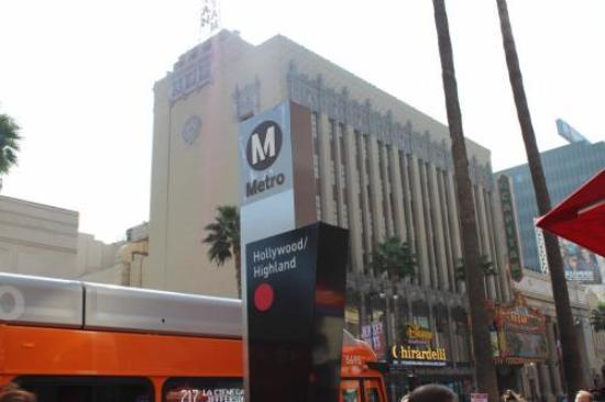 Hollywood and Vine : ハリウッドバイン駅