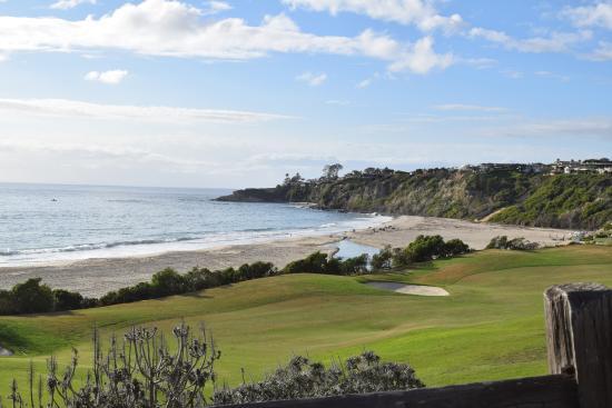 Dana Point, Kaliforniya: Salt creek beach - Golf course