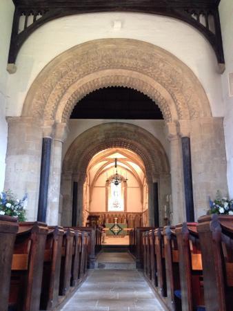 Church of St Mary the Virgin: 内観